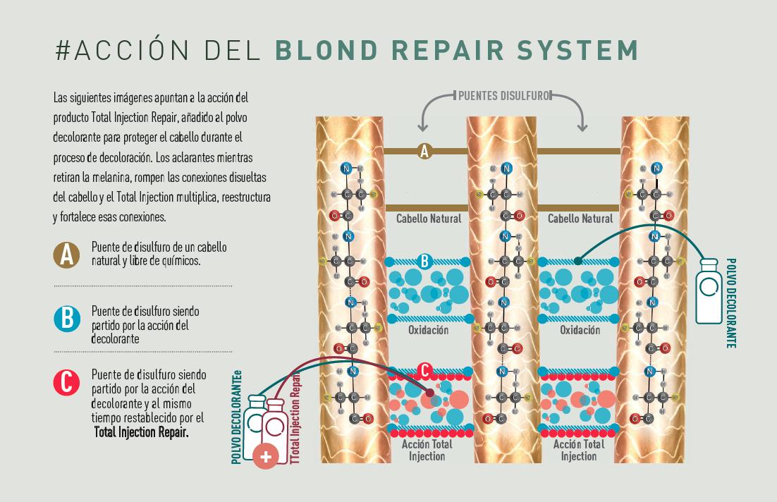 accion de blond repair system