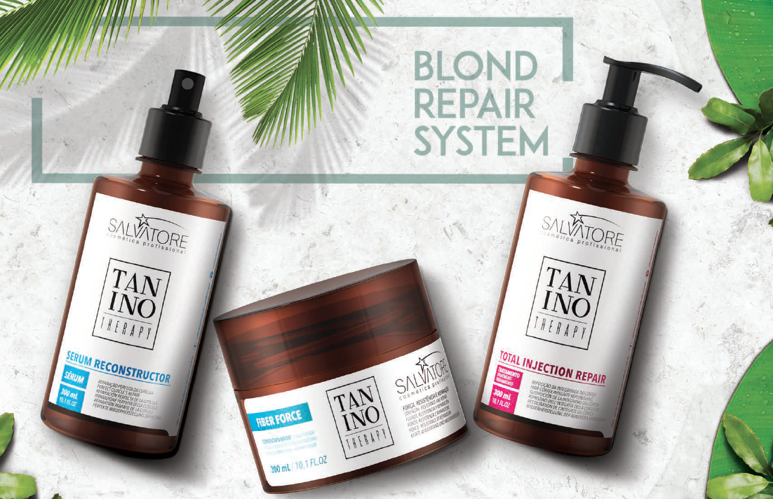 salvatore cosmeticos blond repair system